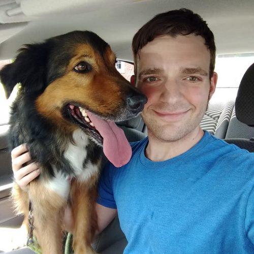 Sheldon in car